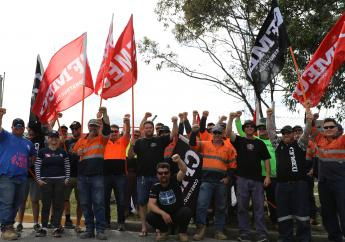 Big victory for workers in Wollongong, the Hunter as union